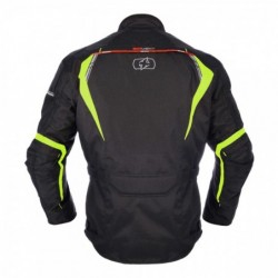 OXFORD - SUBWAY 3.0 MEN LONG JACKET BLACK/FLUO