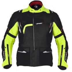 OXFORD - MONTREAL 2.0 MEN LONG JACKET BLACK/FLUO