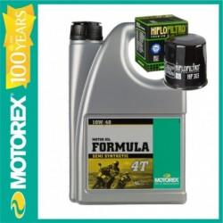 MOTOREX OFERTA  FORMULA 10W40  4L + FILTRU ULEI GRATUIT