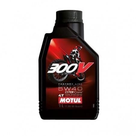 MOTUL  300V OFFROAD 5W40  1L