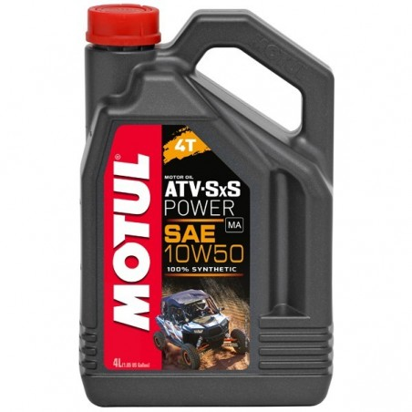 MOTUL  ATV SXS POWER 10W50  4L