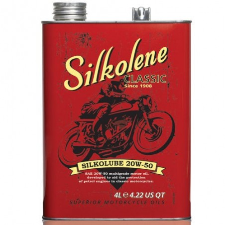 Silkolene SILKOLUBE 20W50 4L