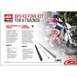 Kit suspensie fata  BPS-K9 X-TRAINER