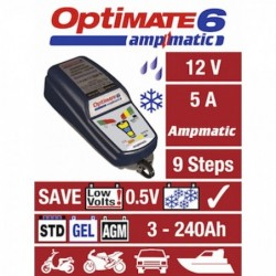 TECMATE  Redresor incarcator tester  OPTIMATE 6 AMPMATIC