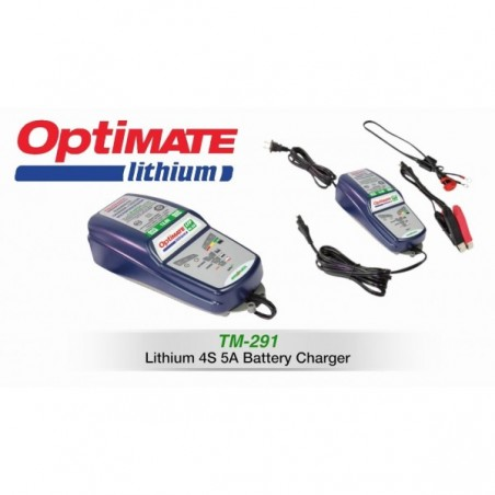 TECMATE  Redresor incarcator tester  OPTIMATE LITHIUM AMPiMATIC