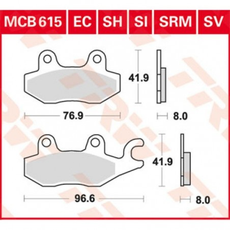 MCB615SV