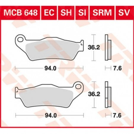 MCB648SV