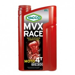 MVX RACE 4T 15W50  100% sinteza  2L