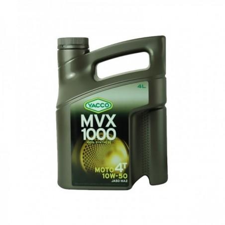 MVX 1000 4T 10W50  100% sintetic 4L