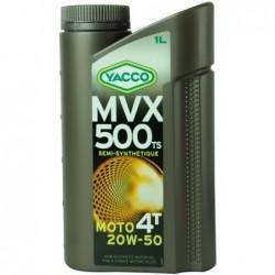 MVX 500 TS 4T 20W50  semisintetic 1L