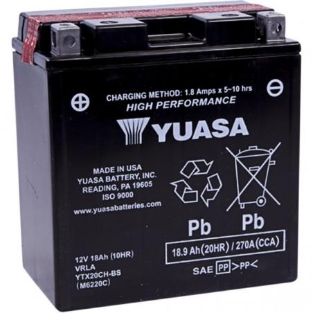 Baterie Yuasa YTX20CH-BS
