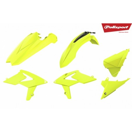 Kit plastice Polisport   Beta RR 2018-2019 Fluo Yellow