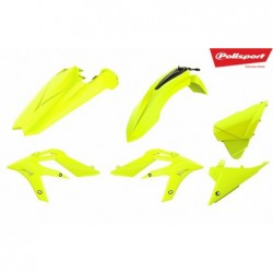 Kit plastice Polisport  Beta Xtrainer 2015-2019 Fluo Yellow