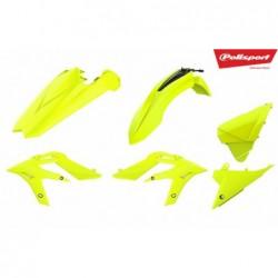 Kit plastice Polisport  Beta Xtrainer 2015-2019 Fluo Yellow