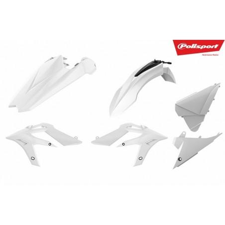 Kit plastice Polisport  Beta Xtrainer 2015-2019 Alb