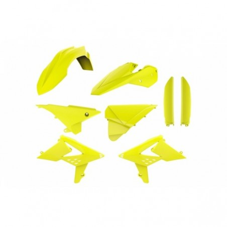 Kit plastice Polisport  Beta RR 2013-2017  FLUO YELLOW