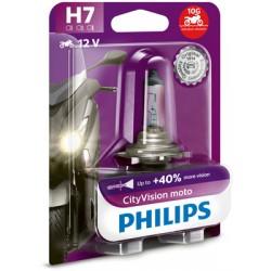 Bec halogen H7 12V 55W Philips City Vision Moto