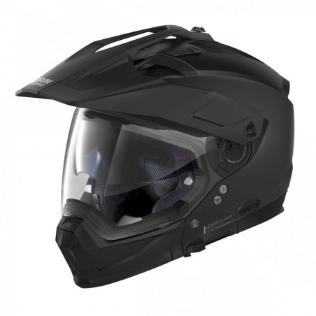 Casca moto Nolan Crossover N70-2 X Classic N Com negru mat