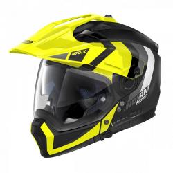 Casca moto Nolan Crossover N70-2 X Decurio N Com negru galben