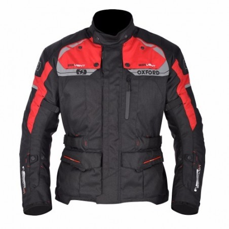 OXFORD - BROOKLYN MS LONG JKT BLACK/RED