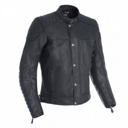 OXFORD - MEN'S HAMPTON LEATHER JACKET BLACK XL