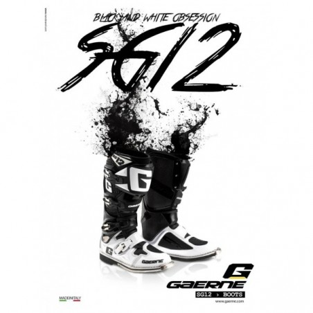 CIZME GAERNE SG12 WHITE-BLACK LIMITED EDITION