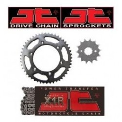 JT Sprocket KIT LANT - CAGIVA PLANET125 3-SPOKE - LANT 520 X1R2/116 + PINIOANE 14/43 -