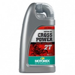 MOTOREX OFERTA BOX  CROSS POWER 2T 1L  1 BOX