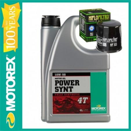 MOTOREX OFERTA  POWER SYNT 10W50  4L + FILTRU ULEI GRATUIT