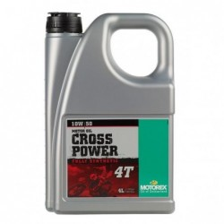 MOTOREX  Cross Power 10W50  4L