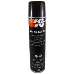 KN  AIR FILTER OIL 990516EU  SPRAY 408 ML