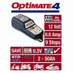 TECMATE  Redresor incarcator tester  OPTIMATE 4 DUAL PROGRAM