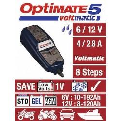 TECMATE  Redresor incarcator tester  OPTIMATE 5 VOLTMATIC