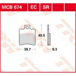 MCB674SR