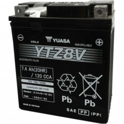 Baterie Yuasa YTZ8V