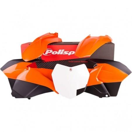 Kit plastice Polisport  KTM 2014-2016 OEM-COLOR