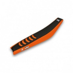 Husa sa KTM 1998-2007 Blackbird Racing DOUBLE GRIP 3  ORANGE/BLACK