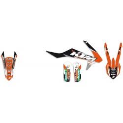 Kit stickere KTM EXC 2017-2019