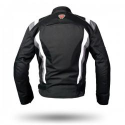 Geaca moto textil Ispido Silver