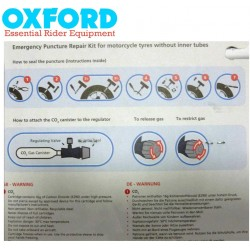 Kit reparatie pana cu CO2 si snur Oxford