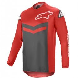 Tricou enduro Alpinestars F Speed rosu/antracit