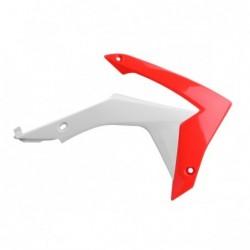 Carene laterale rezervor/radiator Polisport 8417100001 RED/WHITE