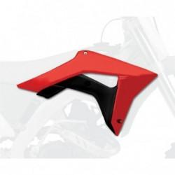 Carene laterale rezervor/radiator Polisport 8414800001 RED/BLACK