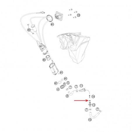 O-Ring Viton 05 KTM '10-'20 58507012000