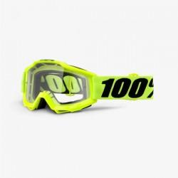 Ochelari enduro mx 100% ACCURI OTG Fluo Yellow